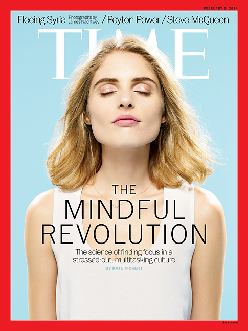 Capa da time magazine: mindfulness